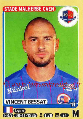2015-16 - Panini Ligue 1 Stickers - N° 111 - Vincent BESSAT (SM Caen)