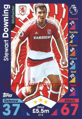 2016-17 - Topps Match Attax Premier League - N° 212
