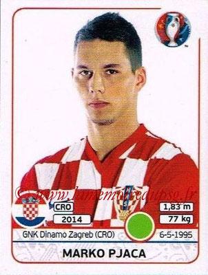 Panini Euro 2016 Stickers - N° 453 - Marko PJACA (Croatie)
