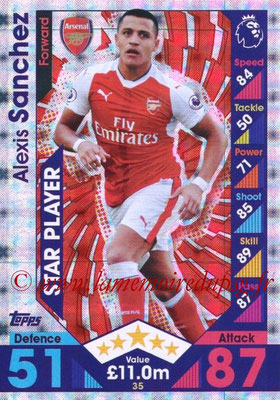 2016-17 - Topps Match Attax Premier League - N° 035