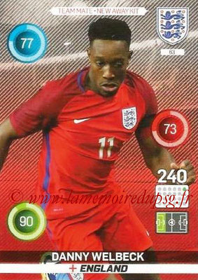 Panini England 2016 Adrenalyn XL - N° 063