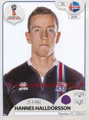 2018 - Panini FIFA World Cup Russia Stickers - N° 294 - Hannes HALLDORSSON (Islande)