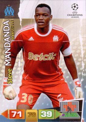 2011-12 - Panini Champions League Cards - N° 192 - Steve MANDANDA (Olympique de Marseille)