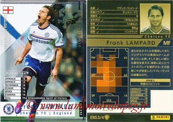 2013-14 - WCCF - N° ENS3 - Frank LAMPARD (Chelsea FC) (English Superstars)
