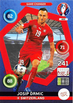 Panini Euro 2016 Cards - N° 400 - Josip DRMIC (Suisse) (Game Changer)