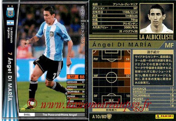 N° A10 - Angel DI MARIA (2012-13, Argentine > 2015-??, PSG)