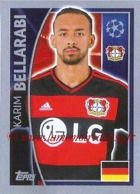 2015-16 - Topps UEFA Champions League Stickers - N° 330 - Karim BELLARABI (Bayer 04 Leverkusen)
