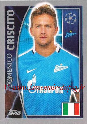 2015-16 - Topps UEFA Champions League Stickers - N° 523 - Domenico CRISCITO (FC Zenit)