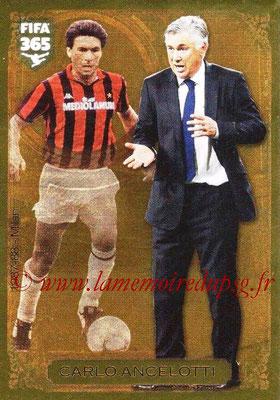 N° 014 - Carlos ANCELOTTI (1987-88, Milan AC > Jan 2012-2013, Entraîneur PSG) (Football Heritage)