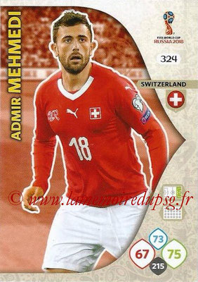 2018 - Panini FIFA World Cup Russia Adrenalyn XL - N° 324 - Admir MEHMEDI (Suisse)