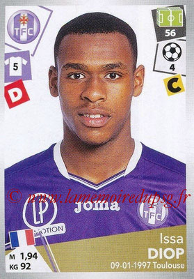 2017-18 - Panini Ligue 1 Stickers - N° 471 - Issa DIOP (Toulouse)
