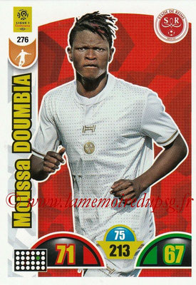 2018-19 - Panini Adrenalyn XL Ligue 1 - N° 276 - Moussa DOUMBIA (Reims)
