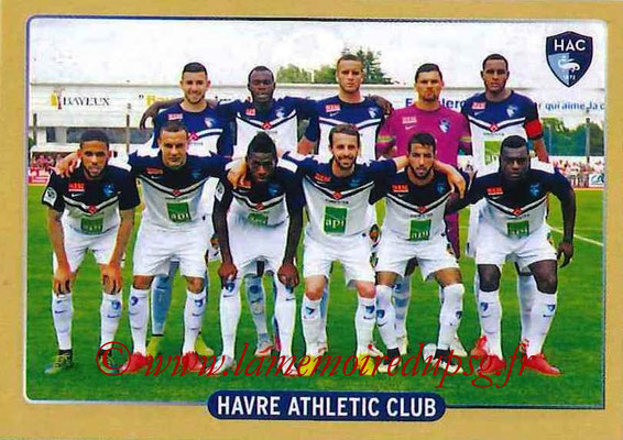 2015-16 - Panini Ligue 1 Stickers - N° 500 - Equipe Le Havre AC