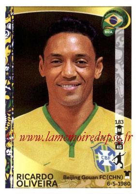 Panini Copa America Centenario USA 2016 Stickers - N° 131 - RicardoOLIVEIRA (Brésil)