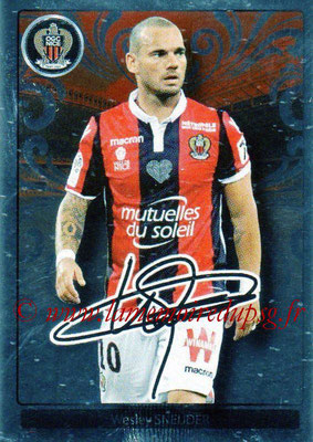 2017-18 - Panini Ligue 1 Stickers - N° 363 - Wesley SNEIJDER (Nice) (Top Recrue)
