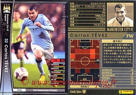 2012-13 - WCCF - N° 048 - Carlos TEVEZ (Manchester City FC)