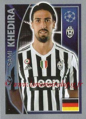 2015-16 - Topps UEFA Champions League Stickers - N° 244 - Sami KHEDIRA (Juventus FC)