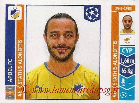 2014-15 - Panini Champions League N° 480 - Stathis ALONEFTIS (Apoel FC)
