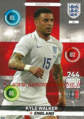 Panini England 2016 Adrenalyn XL - N° 014