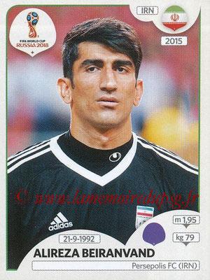 2018 - Panini FIFA World Cup Russia Stickers - N° 174 - Alireza BEIRANVAND (Iran)