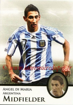 2013 - Futera World Football Unique - N° 036 - Angel DI MARIA (Argentine) (Midfielder)