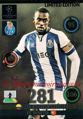 2014-15 - Adrenalyn XL champions League Update edition N° LEU-JM - Jackson MARTINEZ (FC Porto) (Limited Edition)