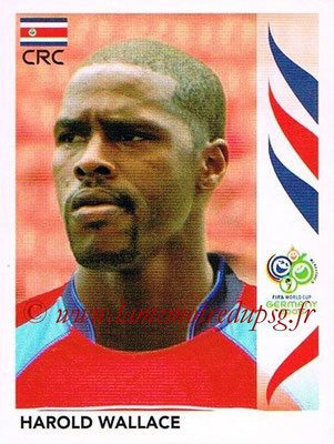 2006 - Panini FIFA World Cup Germany Stickers - N° 044 - Harold WALLACE (Costa Rica)