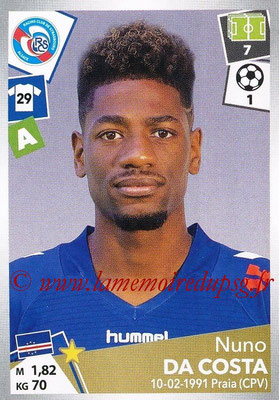 2017-18 - Panini Ligue 1 Stickers - N° 459 - Nuno DA COSTA (Strasbourg)