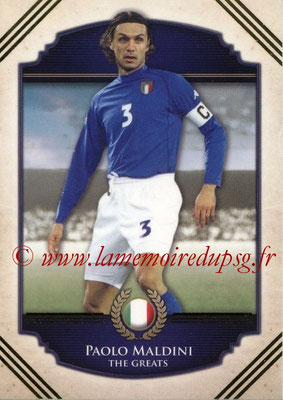 2014 - Futera World Football Unique - N° 110 - Paolo MALDINI (The Greats)