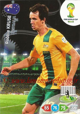 2014 - Panini FIFA World Cup Brazil Adrenalyn XL - N° 024 - Robbie KRUSE (Australie)