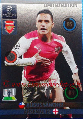 2014-15 - Adrenalyn XL champions League Update edition N° LEU-AL - Alexis SANCHEZ (Arsenal FC) (Limited Edition)