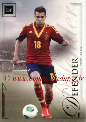2014 - Futera World Football Unique - N° 009 - Jordi ALBA (Defender)