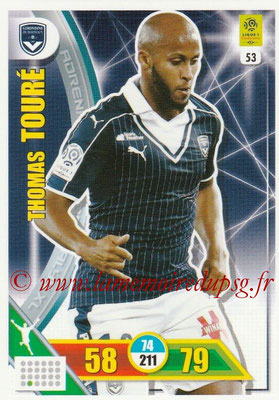 2017-18 - Panini Adrenalyn XL Ligue 1 - N° 053 - Thomas TOURE (Bordeaux)