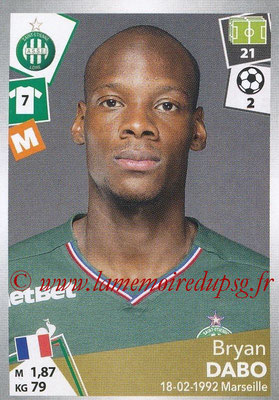 2017-18 - Panini Ligue 1 Stickers - N° 425 - Bryan DABO (Saint-Etienne)