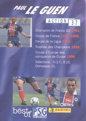 N° 037 -  Paul LE GUEN (Verso)