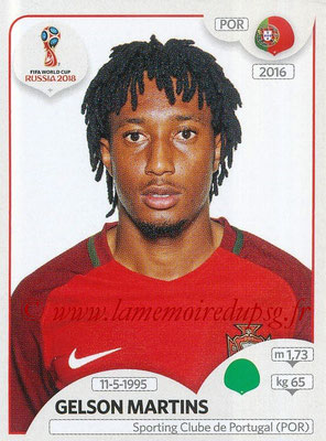 2018 - Panini FIFA World Cup Russia Stickers - N° 129 - Gelson MARTINS (Portugal)