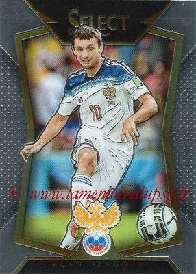 2015 - Panini Select Soccer - N° 026 - Alan DZAGOEV (Russie)