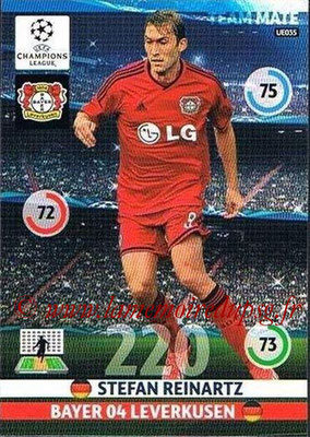 2014-15 - Adrenalyn XL champions League Update edition N° UE035 - Stefan REINARTZ (Bayer Leverkusen)