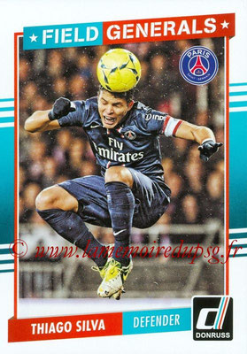 2015 - Panini Donruss Soccer - N° FG14 - Thiago SILVA (Paris Saint-Germain) (Field Generals)