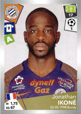 2017-18 - Panini Ligue 1 Stickers - N° 303 - Jonathan IKONE (Montpellier)