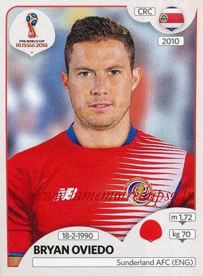 2018 - Panini FIFA World Cup Russia Stickers - N° 397 - Bryan OVIEDO (Costa Rica)