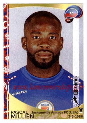 Panini Copa America Centenario USA 2016 Stickers - N° 173 - Pascal MILLIEN (Haiti)