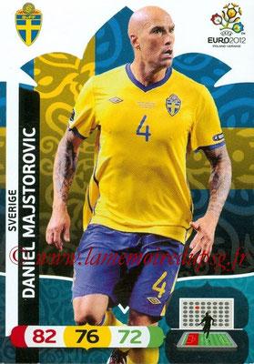 Panini Euro 2012 Cards Adrenalyn XL - N° 203 - Daniel MAJSTOROVIC (Suède)