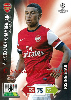 2012-13 - Adrenalyn XL champions League N° 024 - Alex OXILADE-CHAMBERLAIN (Arsenal FC) (Rising Star)