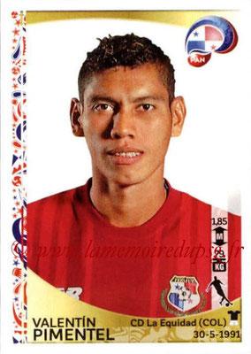 Panini Copa America Centenario USA 2016 Stickers - N° 367 - Valentin PIMENTEL (Panama)