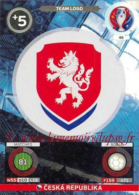 Panini Euro 2016 Cards - N° 046 - Logo Équipe République Tchèque (Team Logo)