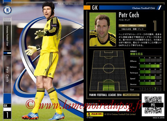 Panini Football League 2014 - PFL06 - N° 057 - Petr CECH (Chelsea FC) (Star)