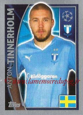2015-16 - Topps UEFA Champions League Stickers - N° 064 - Anton TINNERHOLM (Malmö FF)