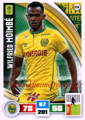 2016-17 - Panini Adrenalyn XL Ligue 1 - N° 254 - Wilfried MOIMBE (Nantes)