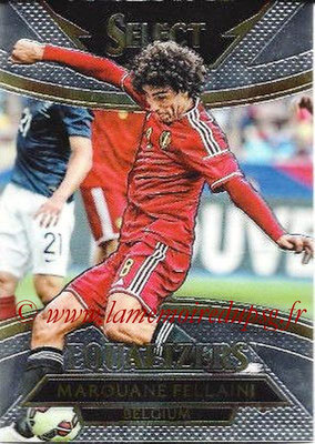 2015 - Panini Select Soccer - N° E02 - Marouane FELLAINI (Belgique) (Equalizers)